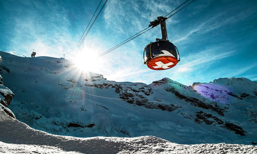 Experience mount Titlis with swiss travel pass